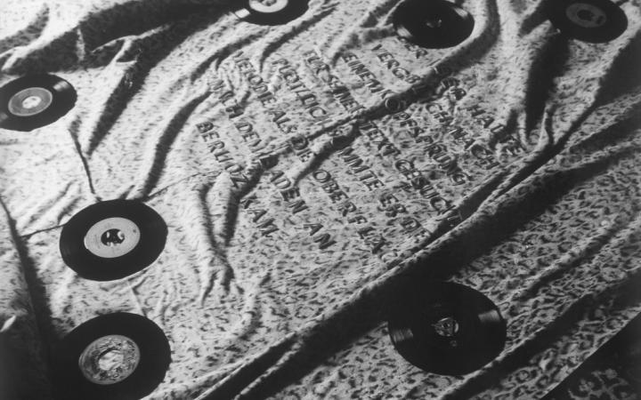 """Werk - Fotografien zu """"Tibersprung"""", 1969"""
