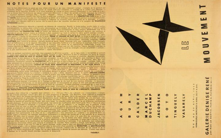 Manifest Jaune