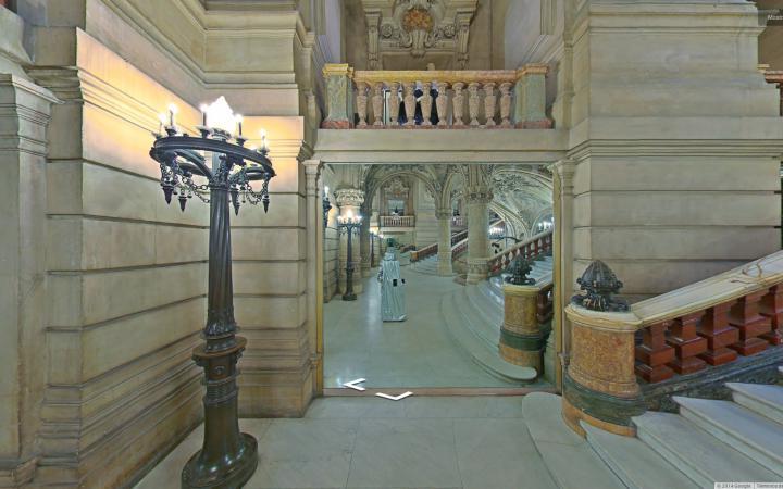 Werk - The Phantom of the Mirror. Trolling Google Art Project