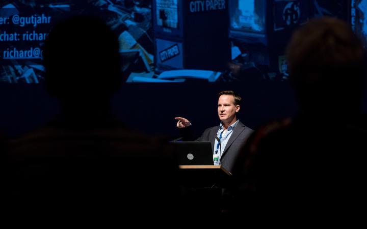 Richard Gutjahr @Symposium »Onlinejournalismus und die 4. Macht«, 18.9.2015