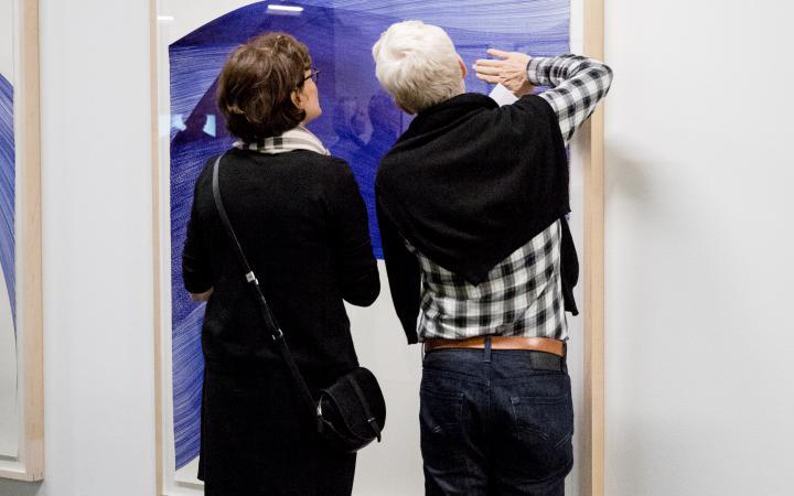 Exhibition view »Resonances«