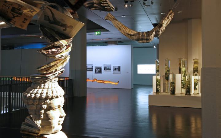 "Ausstellungsansicht ""Thermocline of Art"""