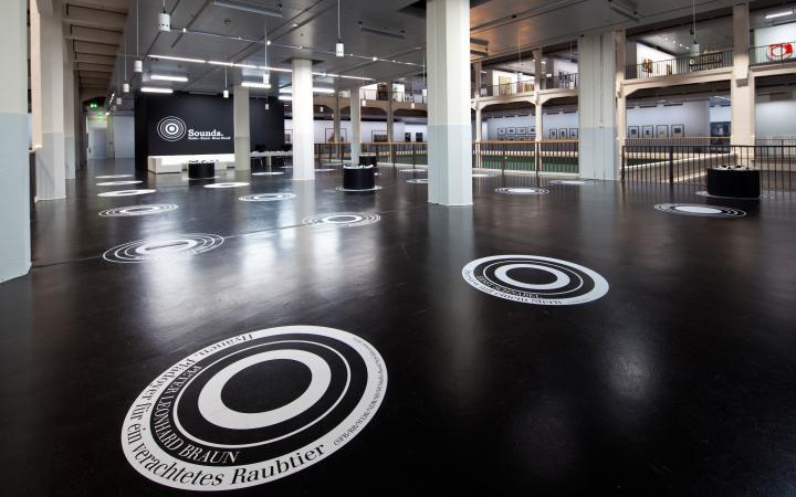 Exhibition view Sounds