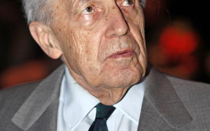 Portrait of the award winner Pierre Boulez