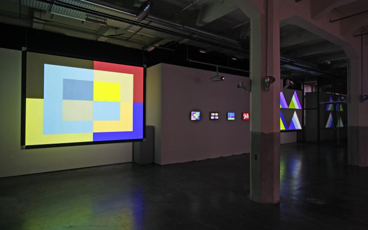 """Exhibition view """"Magnet"""""""