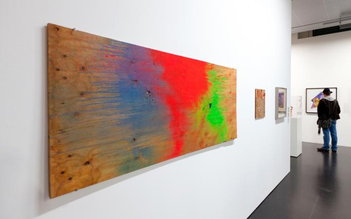 Ausstellungsansicht The Name Is Burroughs