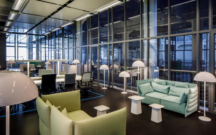 The medialounge of the ZKM | Karlsruhe