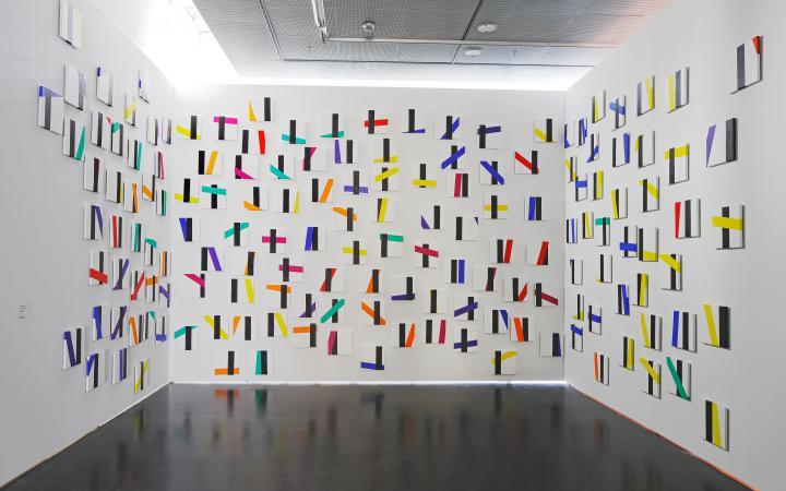 Exhibition view Bernhard Sandfort