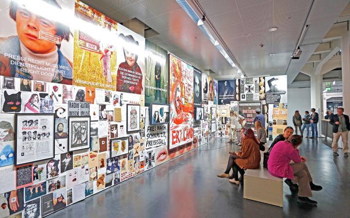 Ausstellungsansicht Art and Press