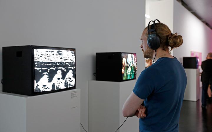 Exhibition view Józef Robakowski