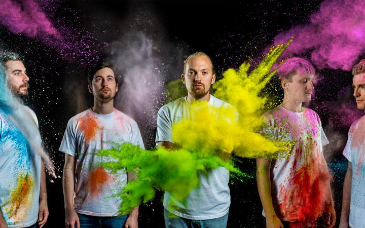 Gruppenbild der Band »Aerie«