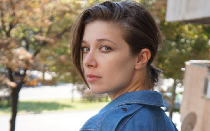 Portrait of Alexandra Pirici