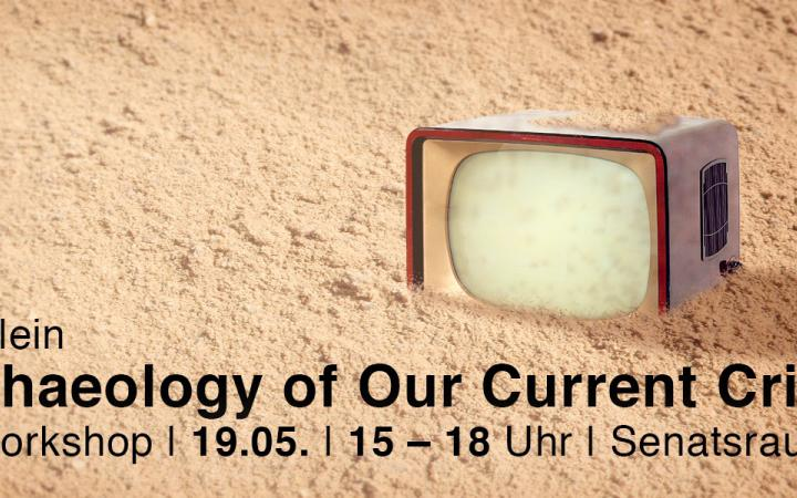 Lecture announcement on Norman Klein »An Archeology of Current Crisis«