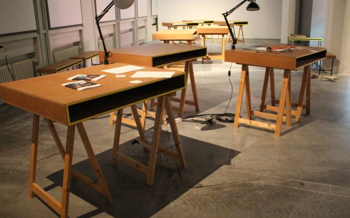 BÄM ist der neue Raum der Museumskommunikation im ersten OG des Lichthof 9