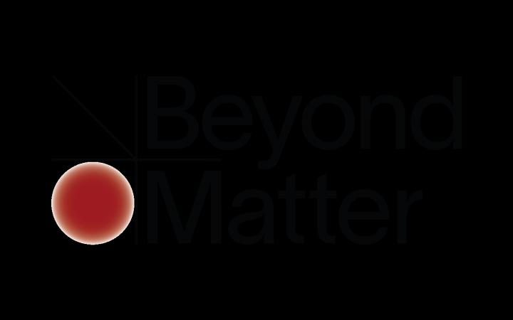 Logo des Projekts Beyond Matter