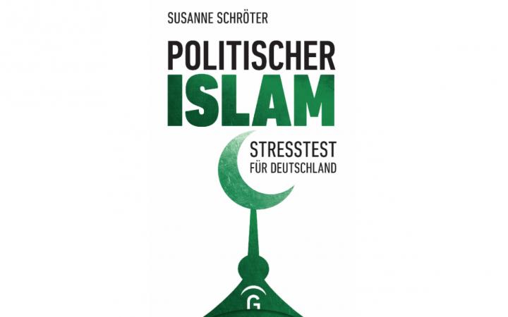 Buchcover mit dem Text »Politischer Islam – Stresstest für Deutschland« und einem grünen Halbmond.