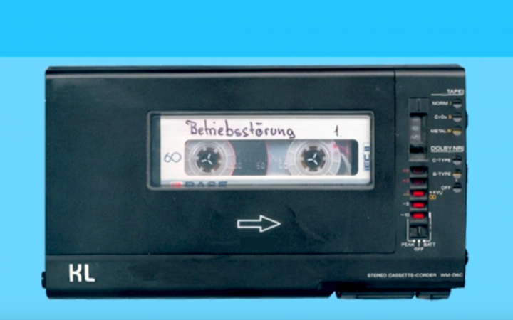 Foto einer Audio-Kassette