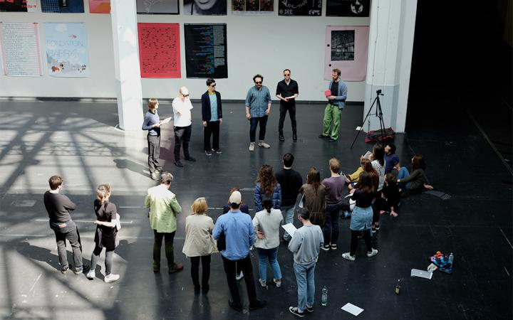 Critical Zones Study Group at Karlsruhe University of Arts and Design (HfG)