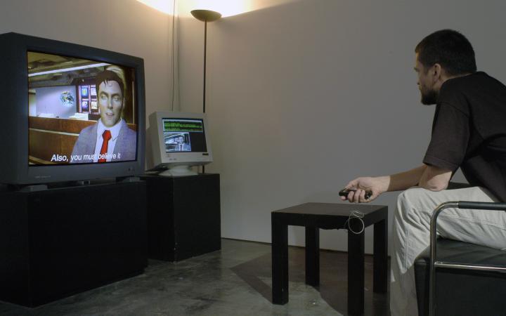 "Exhibition view ""Enseigner/Produire"""
