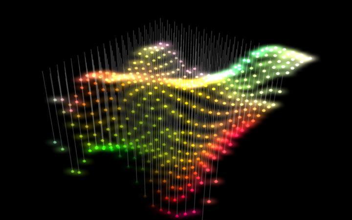 Kinetische Lichtarchitektur