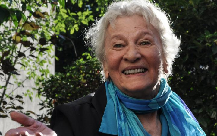 Portrait of the award winner Éliane Radigue