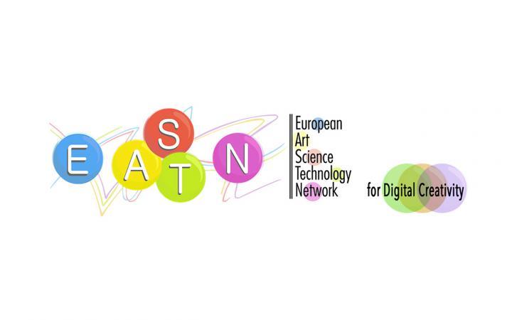 Logo of the »European Art-Science-Technology Network (EASTN-DC)«