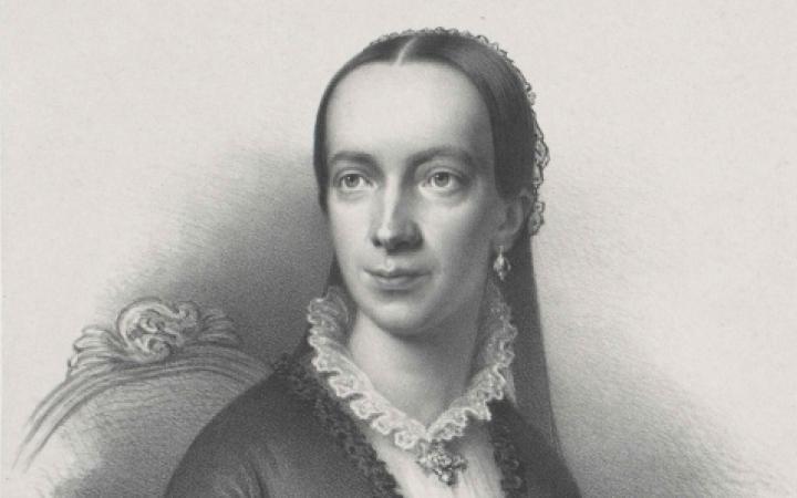 Portrait der Komponistin Emilie Mayer