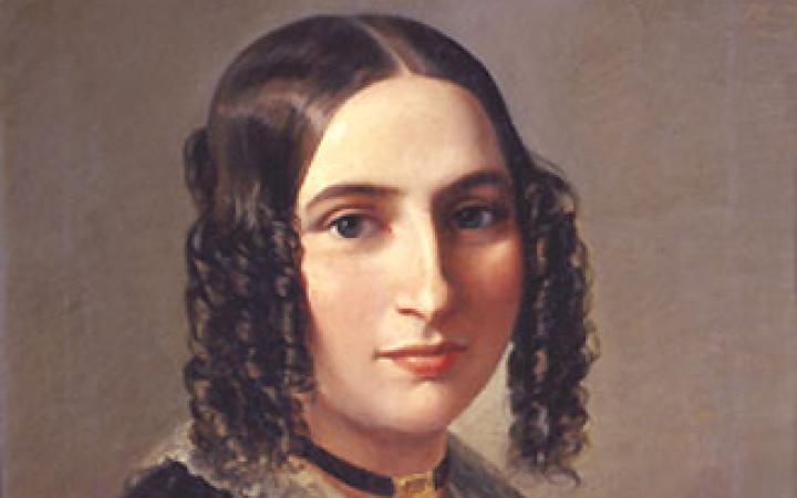 Portrait der Komponistin Fanny Hensel 1842