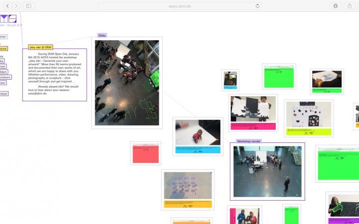 Screenshot of a website
