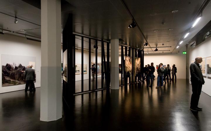 View into the exhibition »Albrecht Kunkel: Quest«