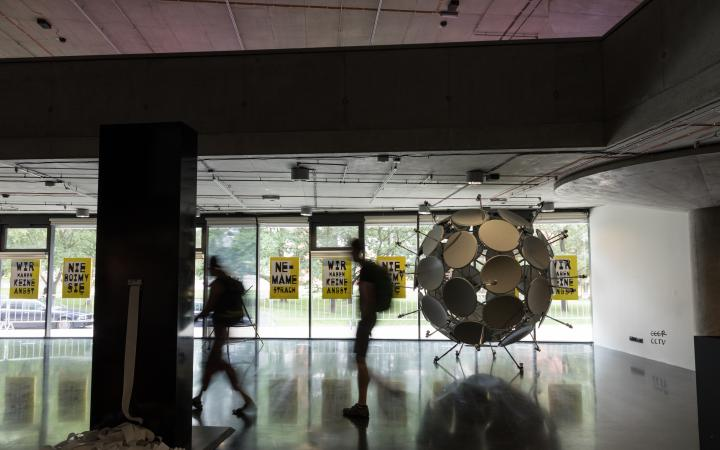 Exhibition view »Global Control and Censorship« in Prague
