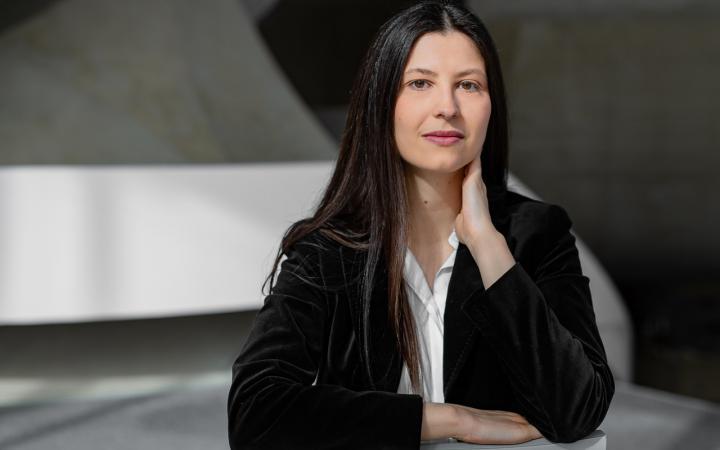 Portrait von Giga-Hertz-Preisträgerin Artemi-Maria Gioti