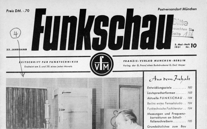 Harald Bode: »Grundsätzliches zum Bau von elektrischen Meßinstrumenten« (1951)