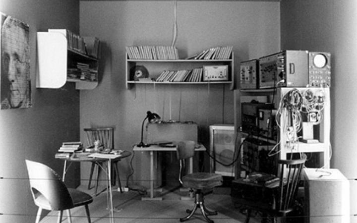 Blick in die Rekonstruktion des Studios von Herman Heiß
