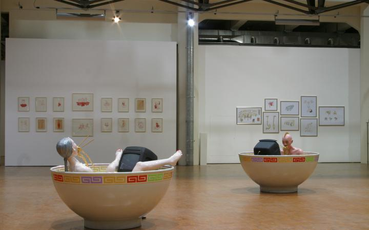 "Exhibition view ""Banquet"""