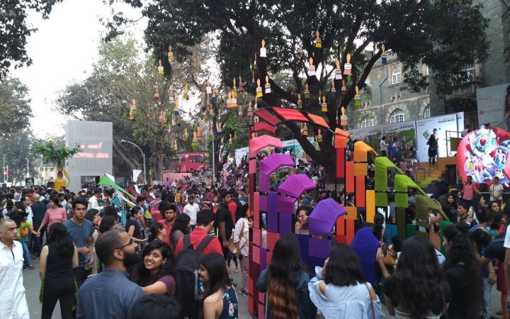 Impressions from the Kala Ghoda Arts Festival 2018