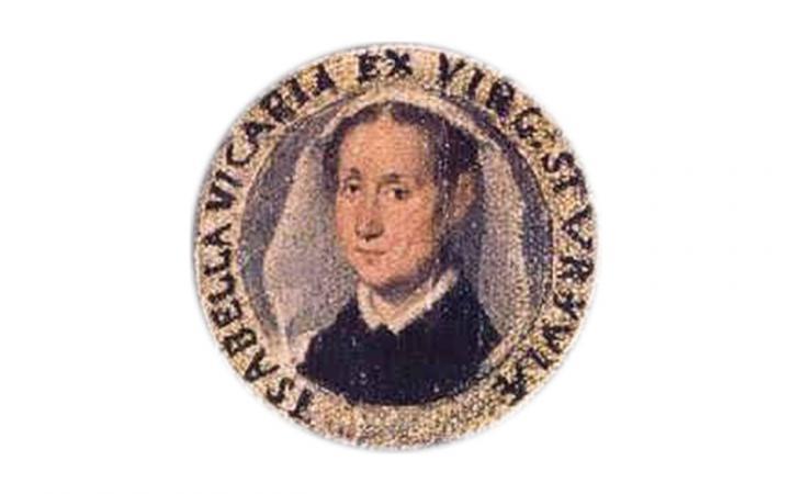 Ein Bild der Komponistin Isabella Leonarda