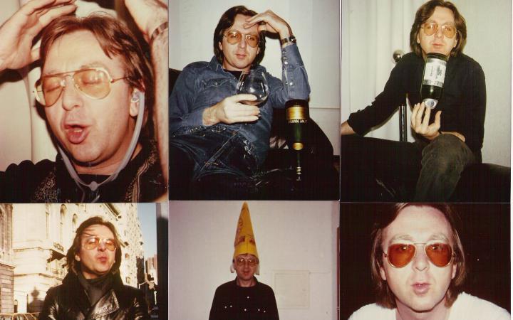 Sechs Porträtfotografien von Gerhard Johann Lischka