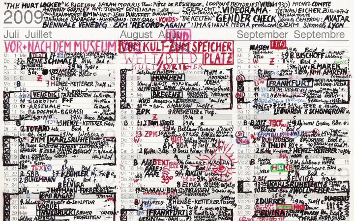 Kalender aus dem Jahr 2009 von Gerhard Johann Lischka