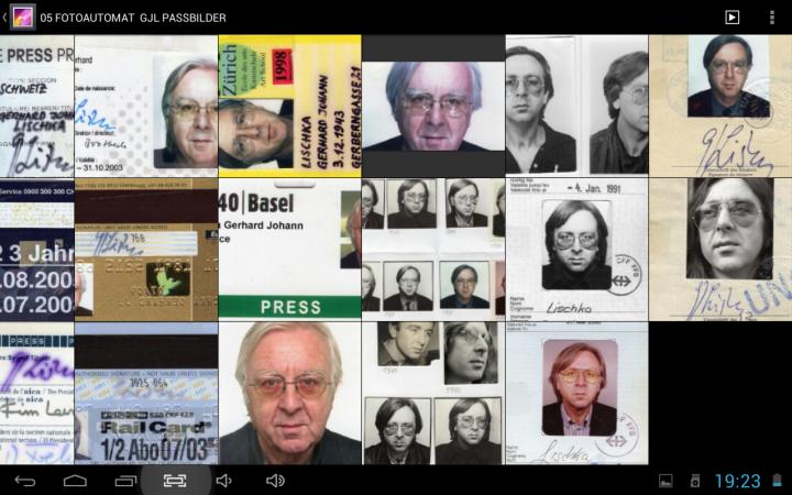 Passbilder von Gerhard Johann Lischka