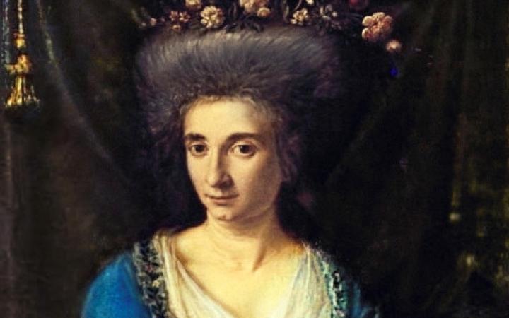 Gemälde der Komponistin Maria Rosa Coccia