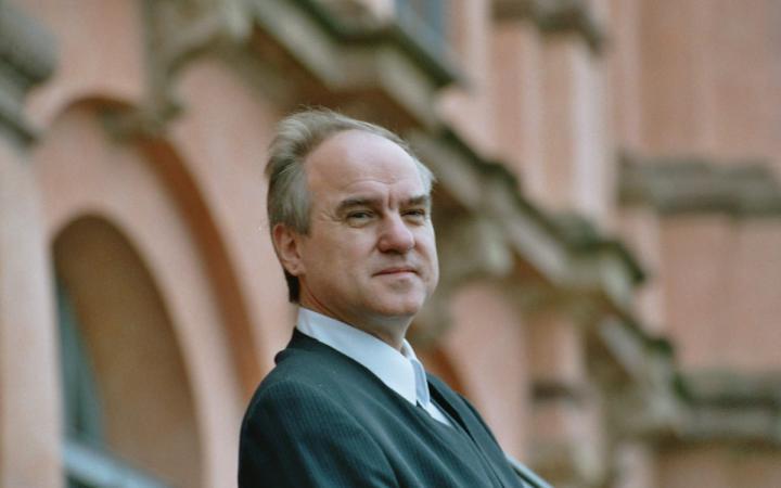 Klarinettist und Kurator Wolfgang Meyer