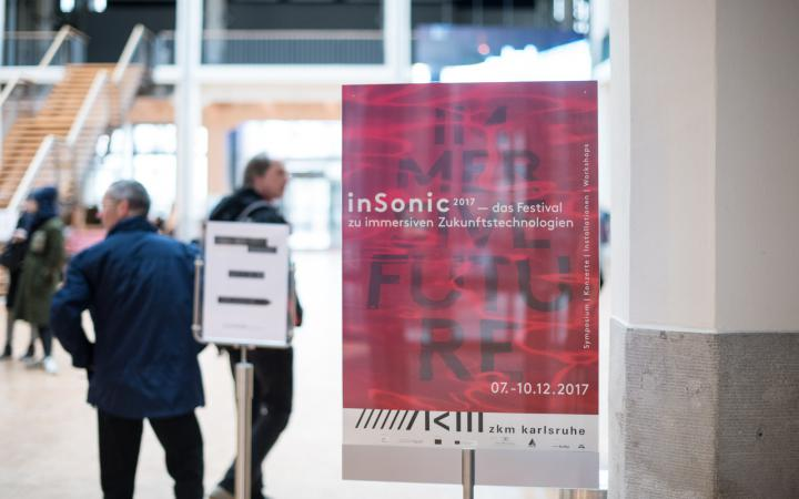 The picture shows the poster of the inSonic2017 festival