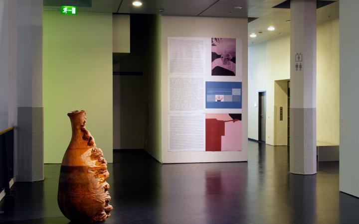 """Exhibition view """"Jochen Gerz: Anthologiy of Art"""""""