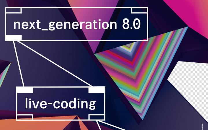 Graphics with coloured triangles