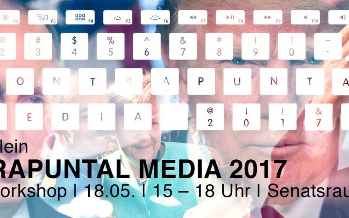 Lecture announcement on Norman Klein »Contrapuntal Media«