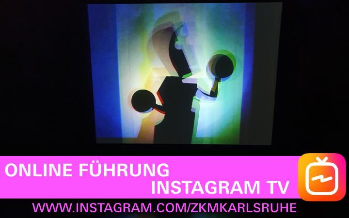 Blick in die Ausstellung »bauhaus.film.expanded« am ZKM Karlsruhe.