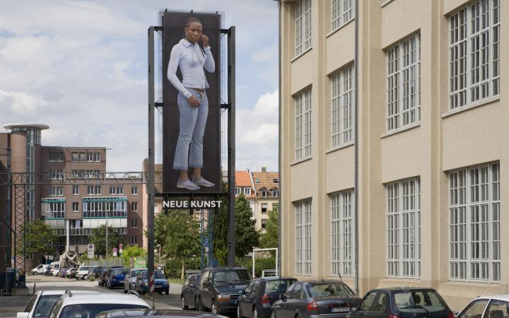 "Installation view ""Emanuel Raab: MenschenBild"""