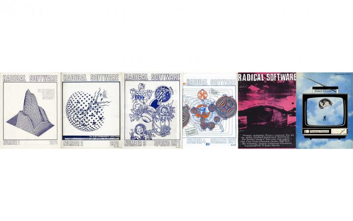A foto collage to Barkers lecture on the Raindance archive