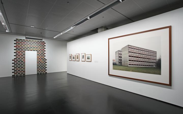 """Ausstellungsansicht """"Vertrautes Terrain"""""""